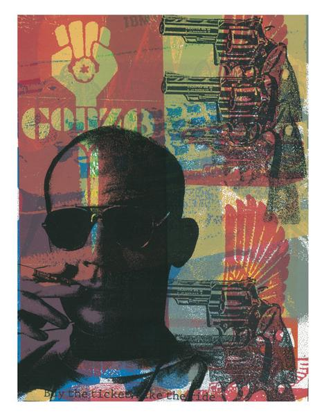 FEAR AND LOATHING 2 Original Hunter S by printmafiadesigns on Et...
