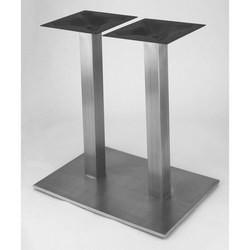 Table Bases - Nikai Stainless Steel Rectangular Table Base By St...