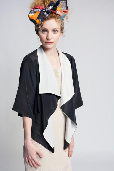Aryn K Black White Jacket - Koshka - Fashion. Trends. Boutique.