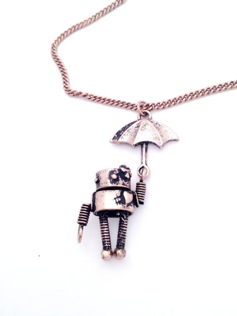 Copper Willies Necklace by chandlertherobot on Etsy