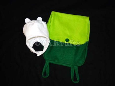 Adventure Time Finn Cosplay Set by OOAKrafts on Etsy