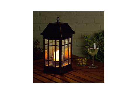 Solar Powered Candle Lantern