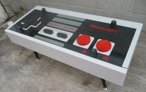 Nintendo Controller Coffee Table by BohemianWorkbench on Etsy