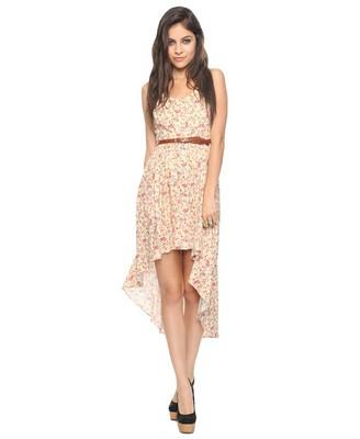 High-Low Ditsy Floral Dress | FOREVER21 - 2000043737