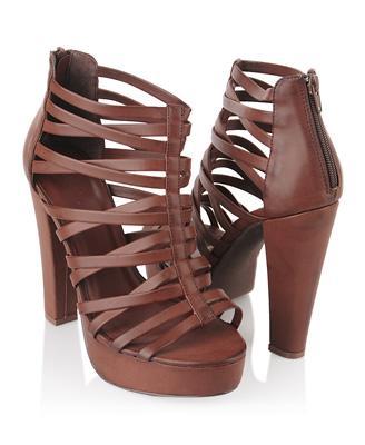 Strappy Platform Sandals | FOREVER21 - 2000043275