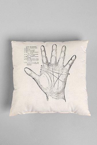 UrbanOutfitters.com > The Rise and Fall Palmistry Pillow