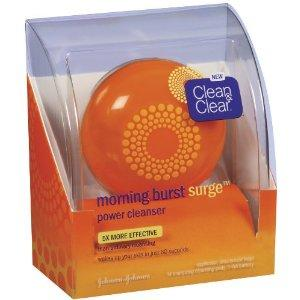 Clean &amp; Clear Morning Burst Surge Energizing Power Cleanser Kit,...