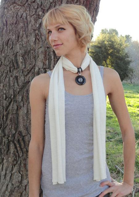 Chakra Healing Hemp Scarf Necklace with by ShannonBonfanti on Et...