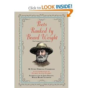 Amazon.com: Poets Ranked by Beard Weight: The Commemorative Edition...