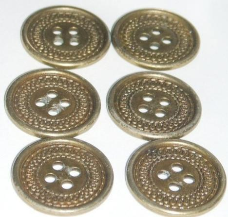 5 Manhole Cover Buttons 13/16 inch by ButtonJars on Etsy