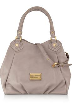 Marc by Marc Jacobs | Classic Q Fran textured-leather shoulder b...