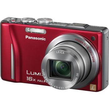 Panasonic DMC-ZS10 Lumix Digital Camera (Red)