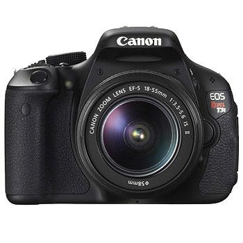 Canon EOS Rebel T3i Digital SLR Camera w/EF-S 18-55 Lens