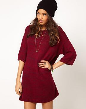 ASOS | ASOS Knitted T-Shirt Dress at ASOS