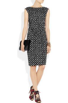 Diane von Furstenberg|Gabi printed silk-jersey dress|NET-A-P...