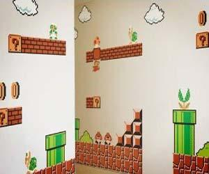 Super Mario Wall Stickers