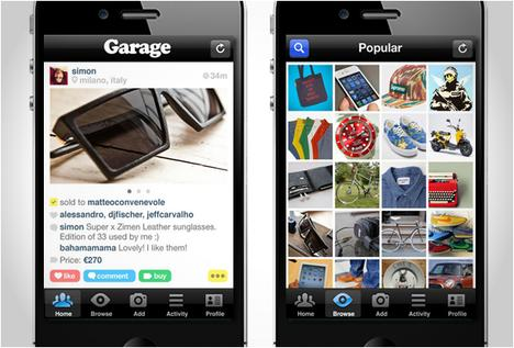 GARAGE APP | BUY &amp; SELL WITH YOUR FRIENDS