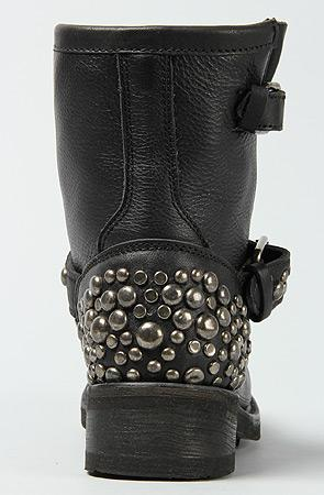 Ash Shoes The Tornado Boot in Dark Nikel and Black Stone : Karma...