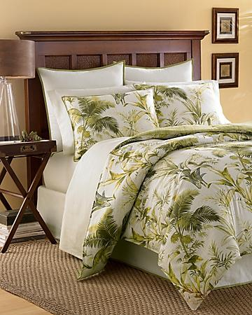 Island Botanical 4-Piece Queen Comforter Set