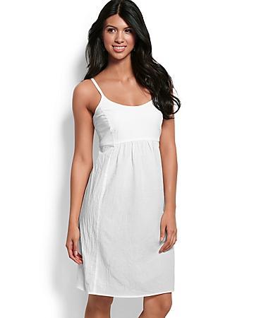 Crinkle Cotton Dress