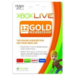 Amazon.com: Xbox LIVE 12 Month Gold Membership: Xbox 360: Video ...