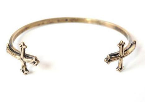 Double Victorian Cross Cuff