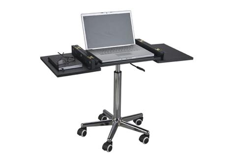 Rolling Laptop Station