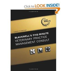Amazon.com: Blackwell's Five-Minute Veterinary Practice Management...