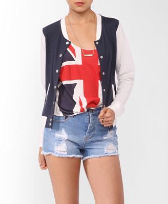 Classic Varsity Jacket | FOREVER21 - 2013959302
