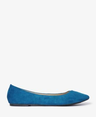 Faux Suede Ballet Flats | FOREVER21 - 2017307448