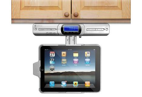 iPad UnderCabinet Dock